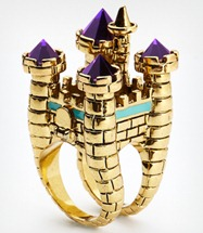 DC Oversized Castle Cocktail Ring