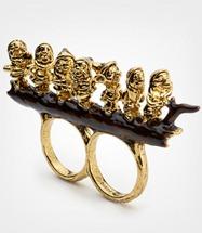 DC Seven Dwarves Double Finger Ring