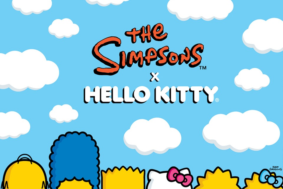 Hello-Kitty-xThe-Simpson-1